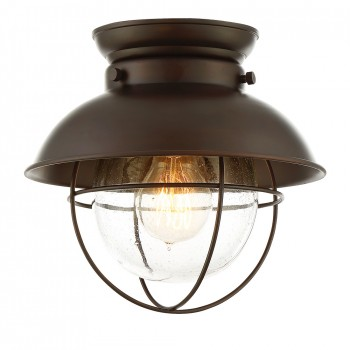 1-Light_Flush_Mount_Oil_Rubbed_Bronze_Finish_lampa_natynkowa
