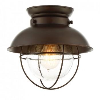 1-Light_Flush_Mount_Oil_Rubbed_Bronze_Finish_lampa_natynkowa