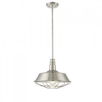 1-Light_Pendant_Polished_Nickel_Finish_lampa_wiszaca
