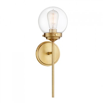 1-light_Wall_Sconce_Warm_Brass_Finish_kinkiet
