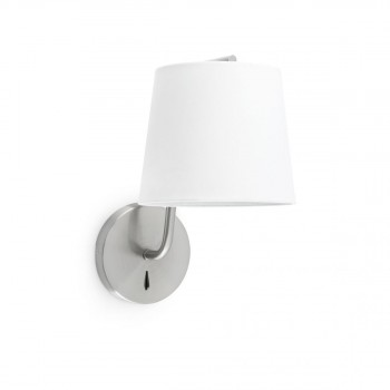 29328__BERNI_Satin_nickel_wall_lamp_Faro_Barcelona