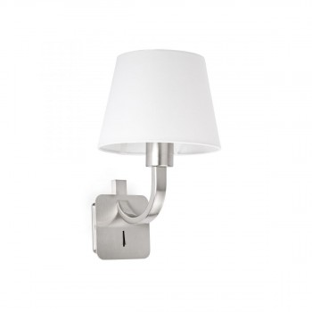 29340_ESSENTIAL_Matt_nickel_wall_lamp_faro_barcelona