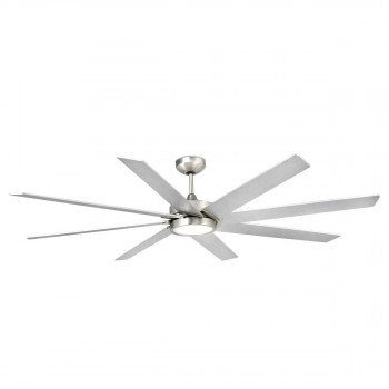 33554_CENTURY_LED_Matt_nickel_ceiling_fan_with_DC_moto