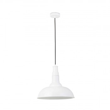 64132_BAR_White_pendant_lamp_Faro_Barcelona