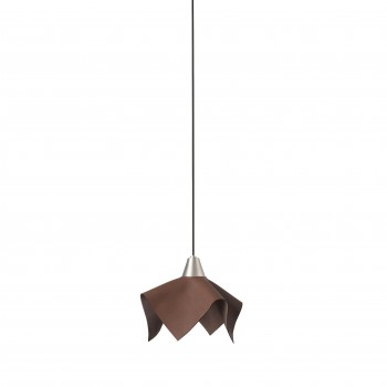 66233_FAUNA_LED_Brown_leather_pendant_lamp_wiszaca_Faro_Barcelona