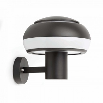 74391_BOLETUS_Dark_grey_wall_lamp_Faro_Barcelona