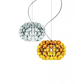 caboche_piccola_suspension_gold_and_transp_foscarini
