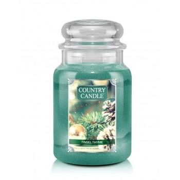 country_candle_Tinsel_Thyme_swieca_zapachowa_w_szkle_duza