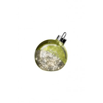 Dekoracja_Ornament_20cm_zielony_Sompex