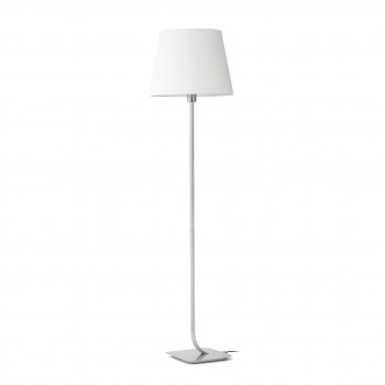 ESSENTIAL_Matt_nickel_floor_lamp_poflogowa_faro_barcelona