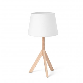 HAT_white_table_lamp_stolowa_Faro_Barcelona