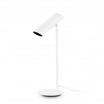 LINK_White_table_lamp_biurkowa_Faro_Barcelona