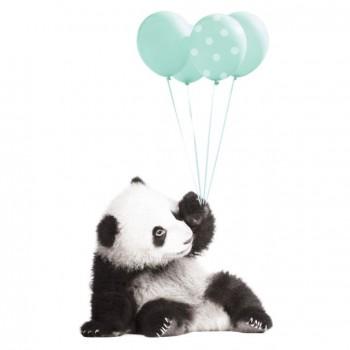 nakejka_scienna_panda_balony_mieta_dekornik