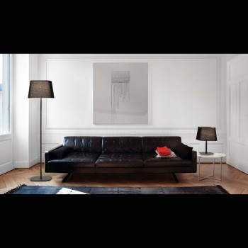 SWEET_Black_floor_lamp_faro_barcelona