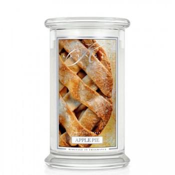Kringle Candle – Apple Pie – ŚWIECA ZAPACHOWA W SZKLE – DUŻA