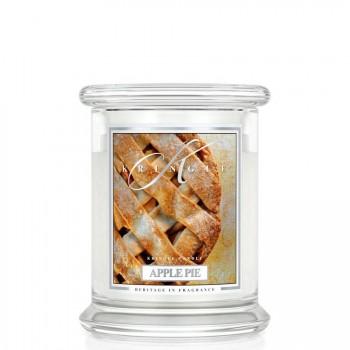 Kringle Candle – Apple Pie – ŚWIECA ZAPACHOWA W SZKLE – Średnia