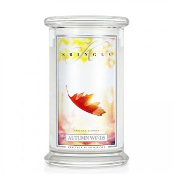 Kringle Candle – Autumn Winds – ŚWIECA ZAPACHOWA W SZKLE – DUŻA