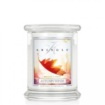 Kringle Candle – Autumn Winds – ŚWIECA ZAPACHOWA W SZKLE – Średnia