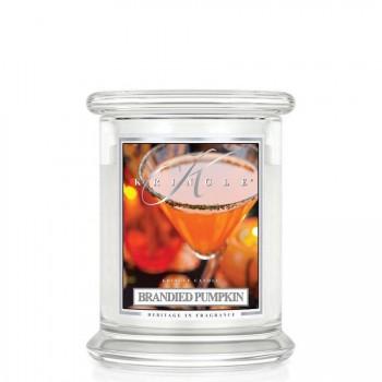 Kringle Candle – Brandied Pumpkin– ŚWIECA ZAPACHOWA W SZKLE – Średnia