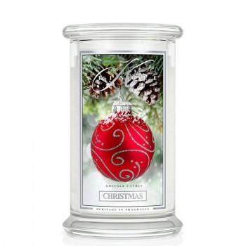 Kringle Candle – Christmas– ŚWIECA ZAPACHOWA W SZKLE – DUŻA