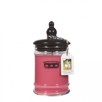 BRIDGEWATER CANDLE – TICKLED PINK – ŚWIECA W SZKLE – MAŁA