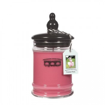 BRIDGEWATER CANDLE – TICKLED PINK – ŚWIECA W SZKLE – DUŻA