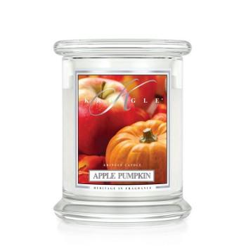 Swieca_zapachowa_w_szkle_Apple_pumpkin_srednia_Kringle_Candle
