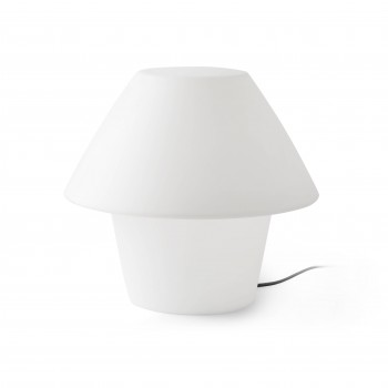 VERSUS-E_White_table_lamp_zewnetrzna_Faro_Barcelona