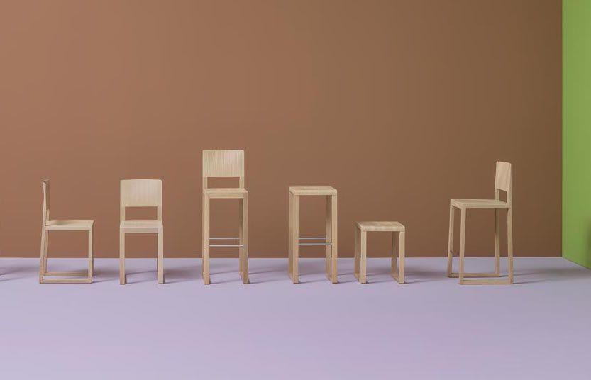 Nowoczesne drewniane krzesło Kolekcja BRERA_Pedrali