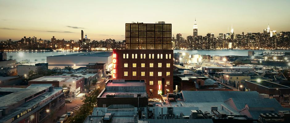 Wythe Hotel NY Brooklyn, New York Image source/ Wythe Hotel